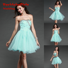 Maphia Cocktail Dresses Custom Made Luxury Royal Blue 2017 White Girls Ball Short Mini Lace Sexy Gown vestidos de fiesta Dress