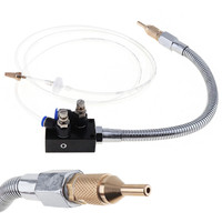 Precision Mist Coolant Lubrication Spray System With Check Valve And Flexible Pipe For Metal Cutting Cooling