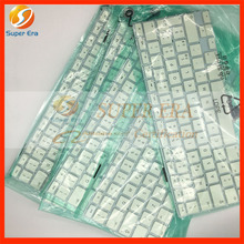 """5pcs/lot perfect Italian IT Italy keyboard for macbook 13.3"""" A1342 late2009 mid2010year"""