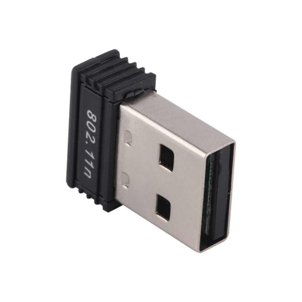 USB Draadloze wifi Adapter ingebouwde 2dB Antenne 150 Mbps Netwerk LAN Card Draagbare Mini Router voor Desktop 802.11b/g /n kaart