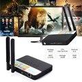Mais novo CSA93 S912 caixa smart tv Amlogic Octa Núcleo Android 6.0 Caixa De TV 2 GB/16 GB Dupla WIFI HDMI 2.0 H.265 BT4.0 4 K Mídia jogador
