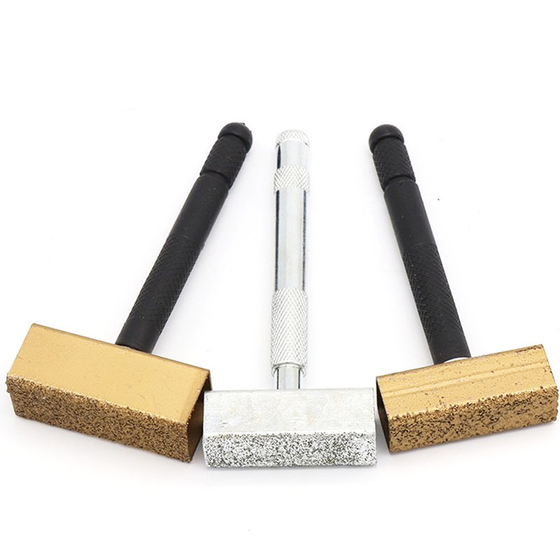 Hand-hold electroplated Diamond Grinding Disc Wheel Stone Dresser Bench Grinder Grinding Tool