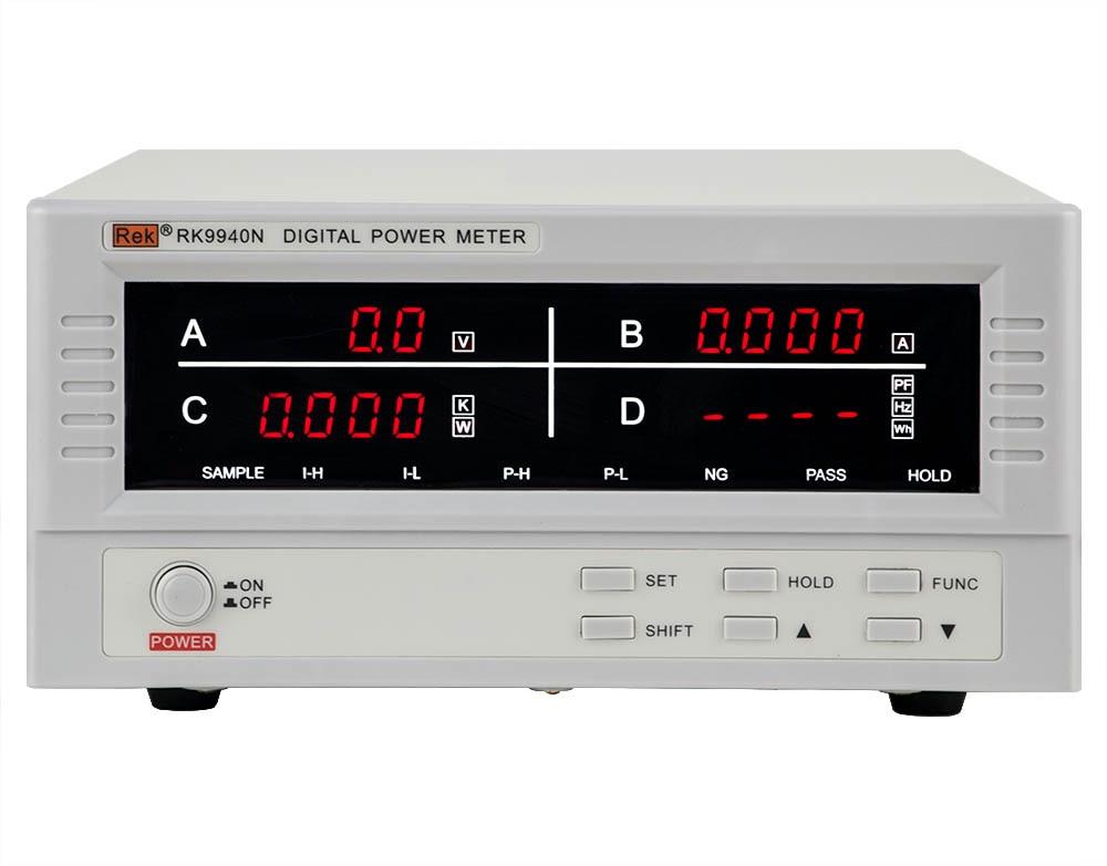 Digital Electric Power Meters : Rek rk n digital power meter electrical parameter