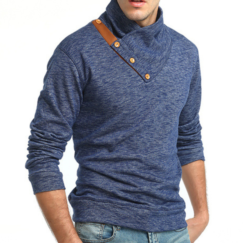 Plus Size New Fashion Men s Fashion Stand Collar Knitting casual Sweater Tide Male Slim Sweater Coat mens sweaters pullover
