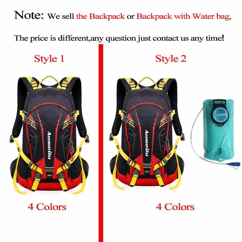 fb171846945 ... Anmeilu 20L Bicycle Shoulders Bag Large Capacity Outdoor Hiking  Climbing Cycling Backpack Camping Downhill Mountain Bike