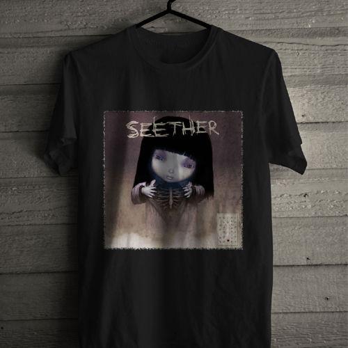 T Shirt Design Shop Short Sleeve Fashion 2018 Crew Neck Seether Tee Shirts For Men