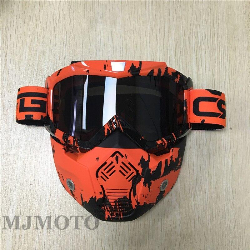 New fashion motorcycle glasses comfortable windproof unisex helmet goggles off road ATV BMX skiing snowboarding motocross masque