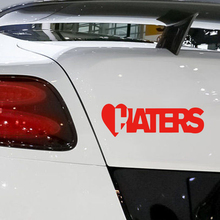 цена на 2x Love Haters Funny Car Window Bumper Jdm Sticker Motorcycle SUVs Bumper Car Stylings Vinyl Decals