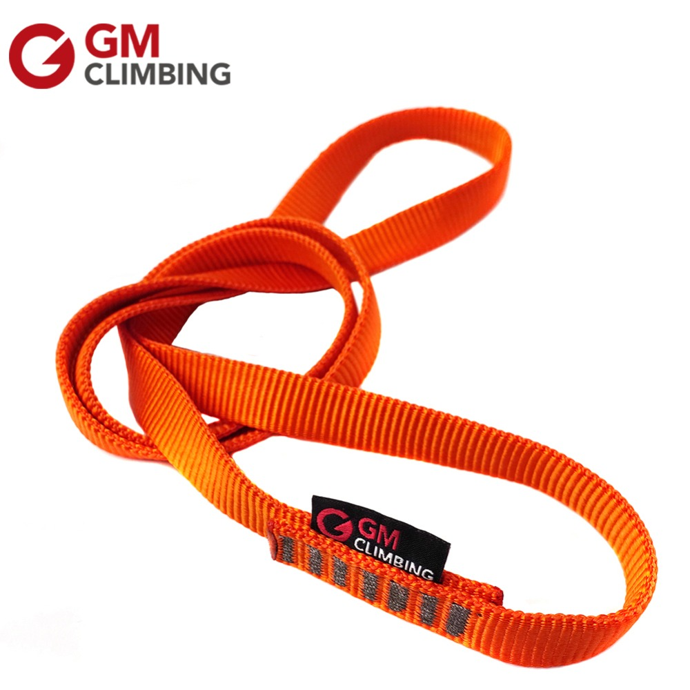 Polyester Climbing Load Bearing Strap Flat Belt Outdoor Cord Rope Protector