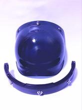 Vintage motorcycle windshield harley helmet bubble shield pilot helmet bubble visor