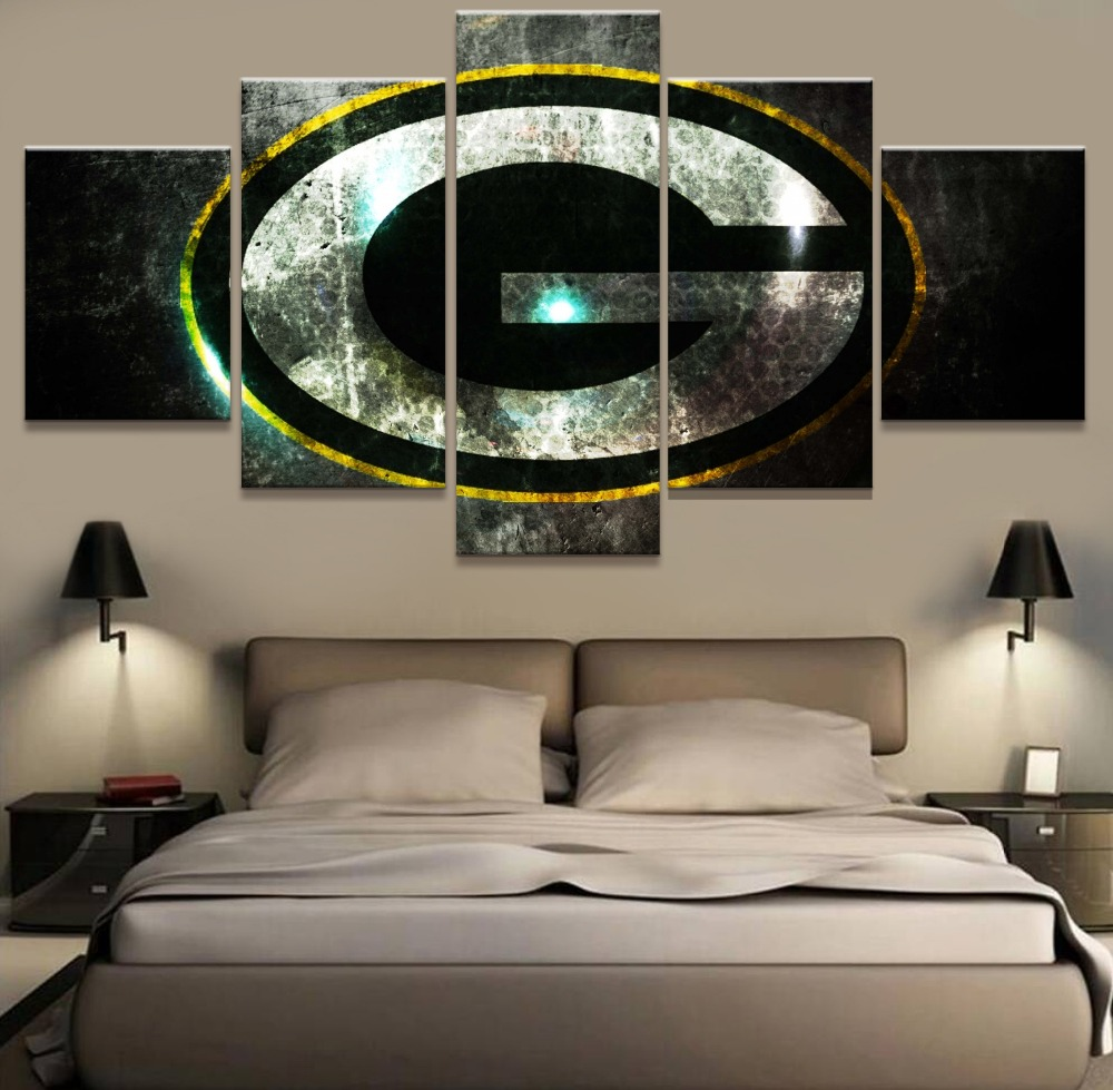 Green Bay Packers Wall Art green bay packer poster promotion-shop for promotional green bay