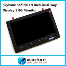 SkyZone Sky 901 Boscam RC901 9 FPV PIP 2CH QUAD LCD Screen Monitor Build in 5