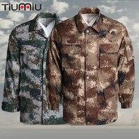Tactical Uniform Sets Clothing Men Women Desert Camouflage Army Jungle Training Suit Militar Airsoft Forest Usmc Tactical