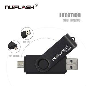 Image 3 - Nuiflash 2 in 1 OTG USB Flash Drive 128GB 64GB 32GB 16GB 8GB Pen drive Smart Phone External Storage Pen Drive Android USB Stick