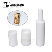 ZONESUN Manual Red Wine Brew Tamponade Device Brewed Red Wine Bottle Capping Machine Cork Into Bottle Tools Wine Stopper Pusher