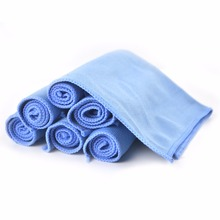 8-Pack Car Microfiber Glass Cleaning Towels Stainless Steel Polishing Shine Cloth Window Windshield Cloth 12″x12″