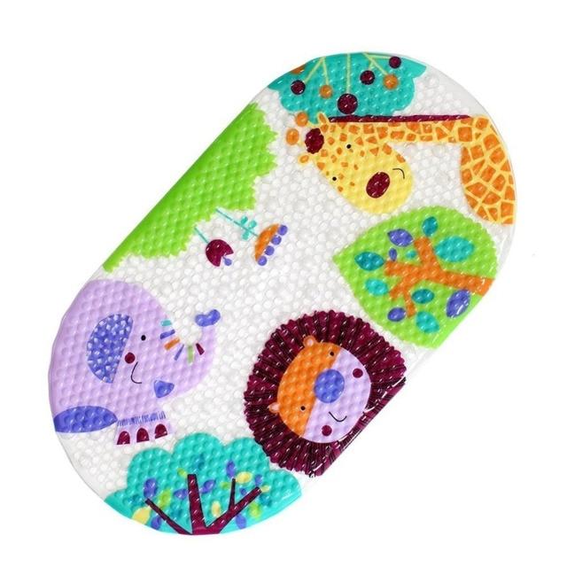 39 cm x 69 cm Capretti Del Bambino in un Tappetino Da Bagno Del Fumetto Ventosa Bagno Doccia Mat Mat per Bagno Vasca Da Bagno Tappetini antiscivolo di Sicurezza Per Bambini