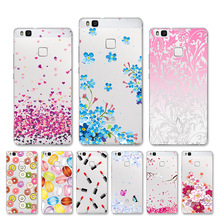 Huawei P9 Lite Case Cover Painted Soft Silicone P9 Mini G9 Lite Honor 8 Smart Cases Bags VNS-L21 VNS-L22 VNS-L23 VNS-L31 VNS-L53