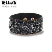 Лидер продаж 2020 модные женские браслеты с шармами кожаные