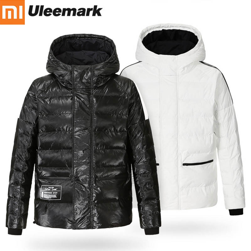 Original Xiaomi Uleemark Men Jacket DuPont Paper Padded Jackets Anti fouling Waterproof Windproof Coats Cotton Clothing H20-in Smart Remote Control from Consumer Electronics    1