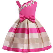 Baby Girl embroidery Silk Princess Dress for Wedding party Kids  Dresses for Toddler Girl Children Fashion Christmas Clothing (China)