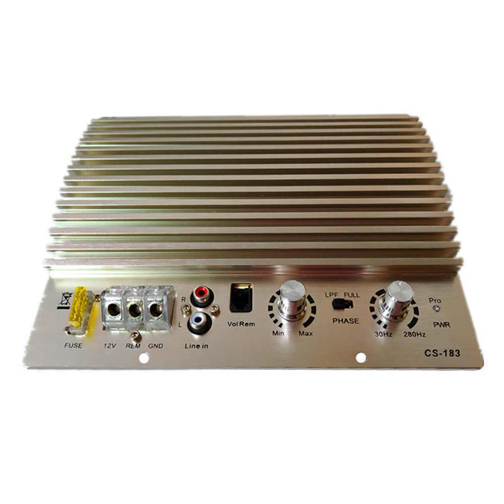 AOSHIKE 12 V 600 W усилитель плата моно автомобильный аудио усилитель мощности мощный автомобильный сабвуфер звуковой усилитель автомобиля аудио