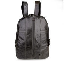 Real Genuine Leather Vintage Backpack Men School Backpack Male Daily Bag Fashion Leisure Men s Travel