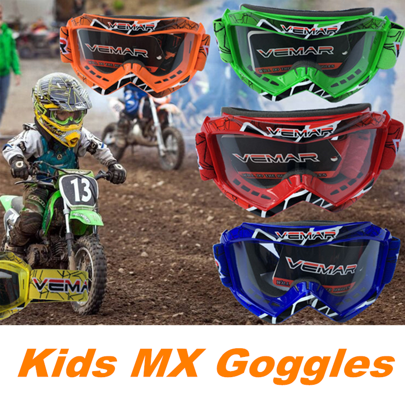 2017 New Arrival kids Motorcycle Off Riding Goggles Youth Motocross ...