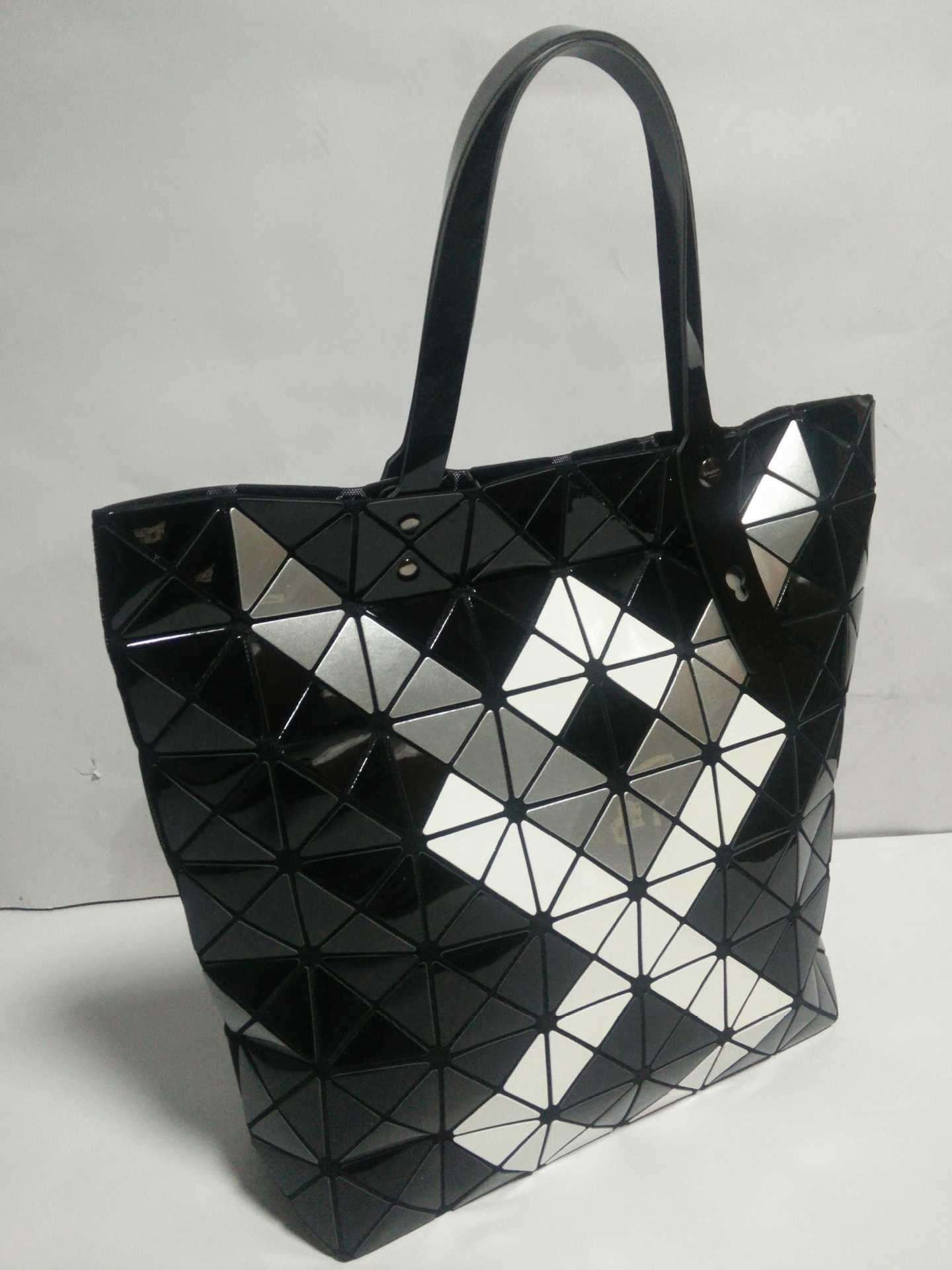 Hot Fashion Brand Women s Same As Baobao Casual Bag Ladies Bao Bao Lattice Geometric Patchwork