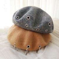 ファッションベレー帽キャップ女