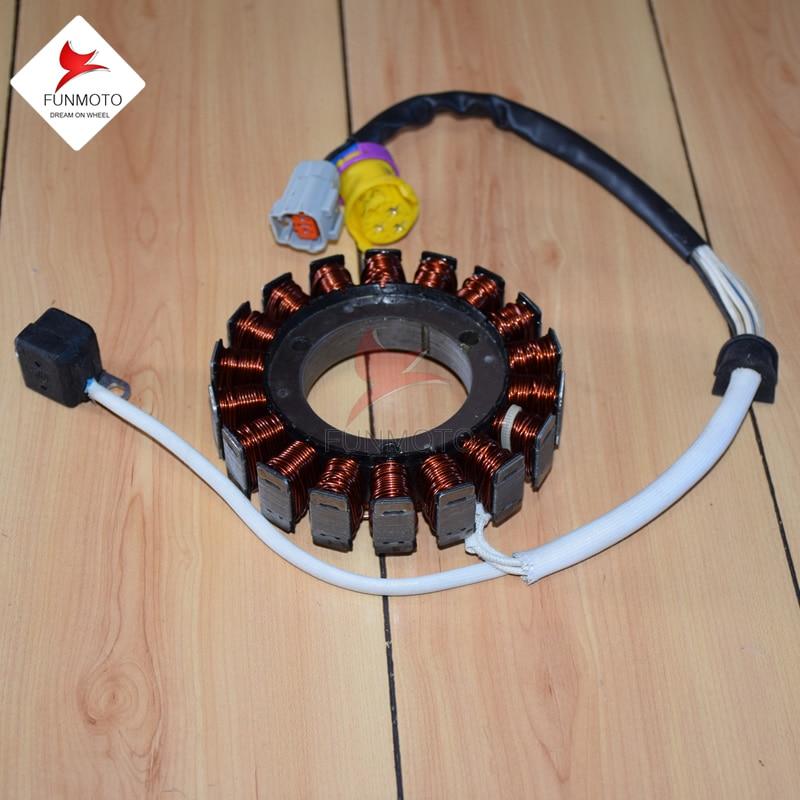 Estator De Motor Magnético De Js400 Atv/jianshe 400 Atv Carburador Modelo No. Es F3-d52000-0 Materiales Superiores