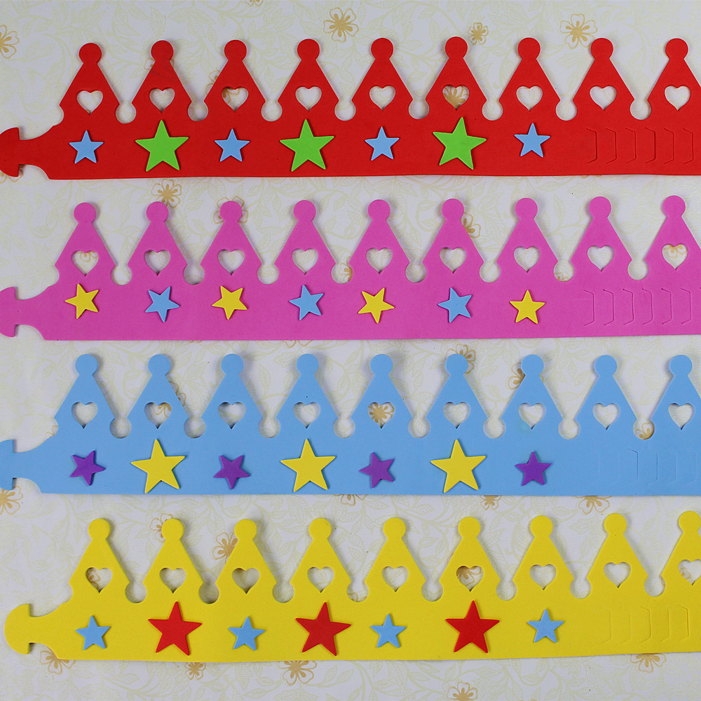 5pcs / lot 10g EVA rođendan šešir dječje izvedbe rekvizite - Za blagdane i zabave - Foto 4