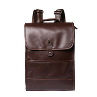 Amasie Новый Для мужчин рюкзак кожаный Винтаж мужской функциональные дорожные сумки большой Ёмкость Для мужчин сумка школьные сумки для мальч