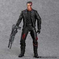 """Die Terminator T-800 Arnold Schwarzenegger PVC Action Figure Sammeln Modell Spielzeug 7 """"18 cm"""
