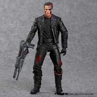 """El Terminator T-800 Arnold Schwarzenegger PVC figura de acción de juguete de modelos coleccionables 7 """"18 cm"""