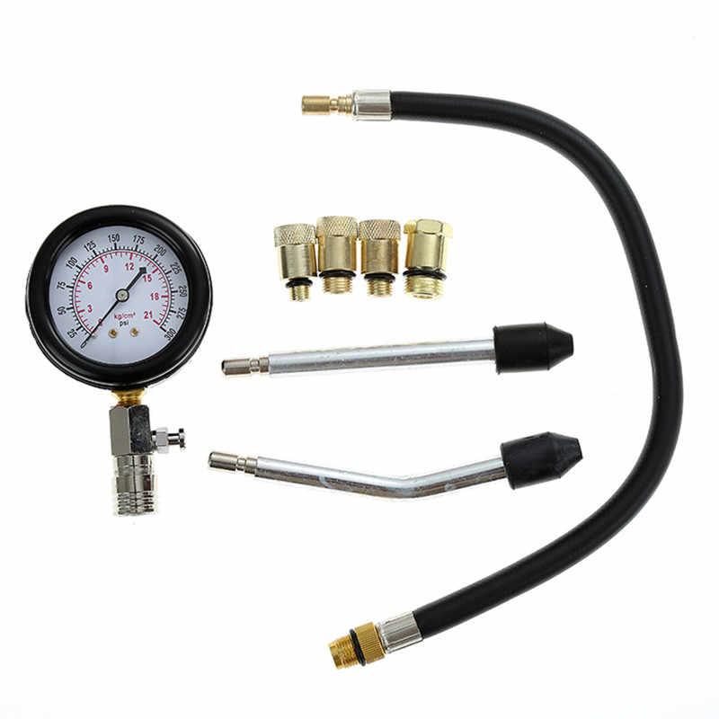 السيارات محرك البنزين الغاز اسطوانة ضاغط قياس متر اختبار ضغط مختبر ضغط تشخيص سيارة السيارات الأداء