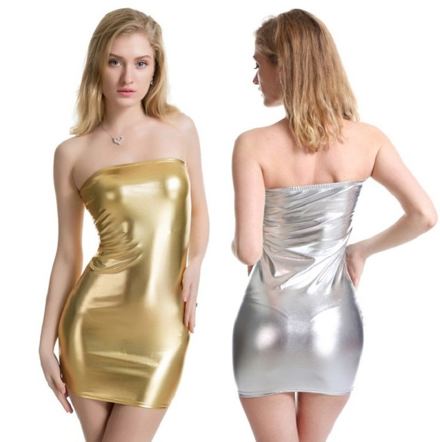 Sexy shiny dresses