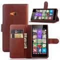 Высокое Качество Бумажник PU Кожа Case Для Mircosoft Nokia Lumia 540 Shell Обложка С Держателем Кредитной Карты
