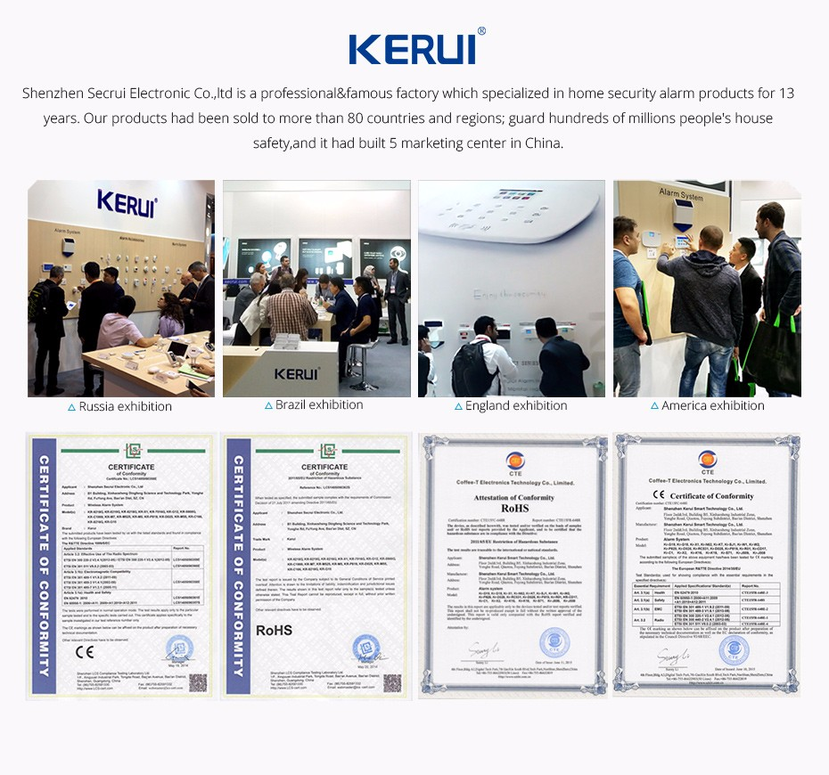 home camera system KERUI affair