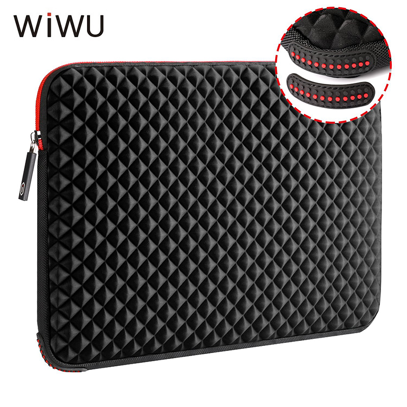 WIWU Laptop Bag Sleeve 17.3 Inch Waterproof Notebook Bag For Macbook Air Pro 17 Computer Bag Funda For Women Men Shockproof