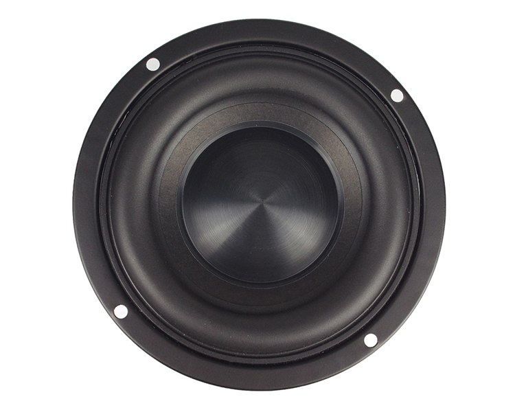 Ceramic Cap 4 inch 116mm Subwoofer Speaker Unit 50W Black Diamond Alumina Cap Woofer LoudSpeaker Desktop Deep Bass NEW 1PCS 9
