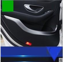 For Mercedes Benz GLC X205 253 Interior Car Door Moulding Cover Trim 2015-2016 4pcs