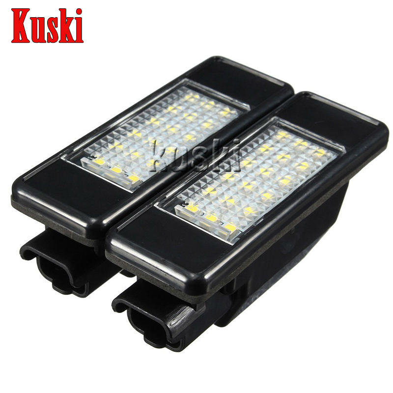 2Pcs LED Number License Plate Light 12V White SMD LED Lamp Car Styling For Peugeot 307 308 407 207 3008 508 For Citroen C4 C5 C3 pro high pressure airless paint spray gun machine power paint tools supplies