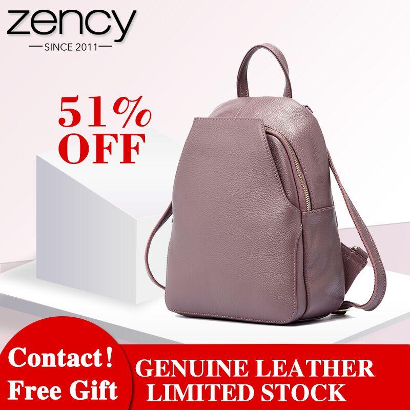 qualidade genuína mochilas de couro Main Material : Genuine Leather