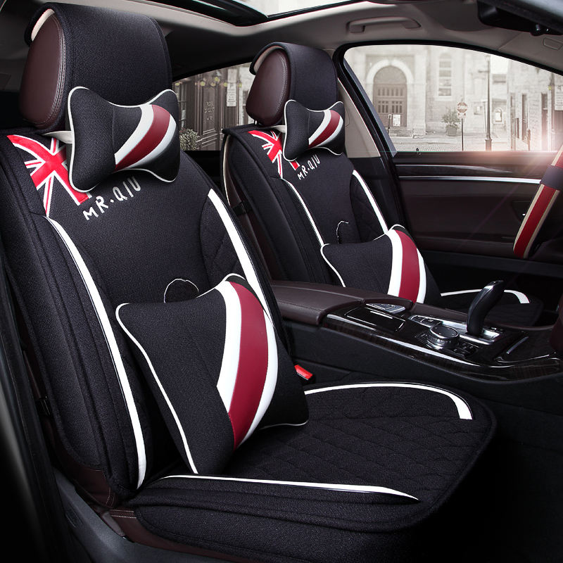 Winter Plush Car Seat Cover Cushion For Nissan Altima Rouge X trail Murano Sentra Sylphy Versa Sunny Tiida Car pad
