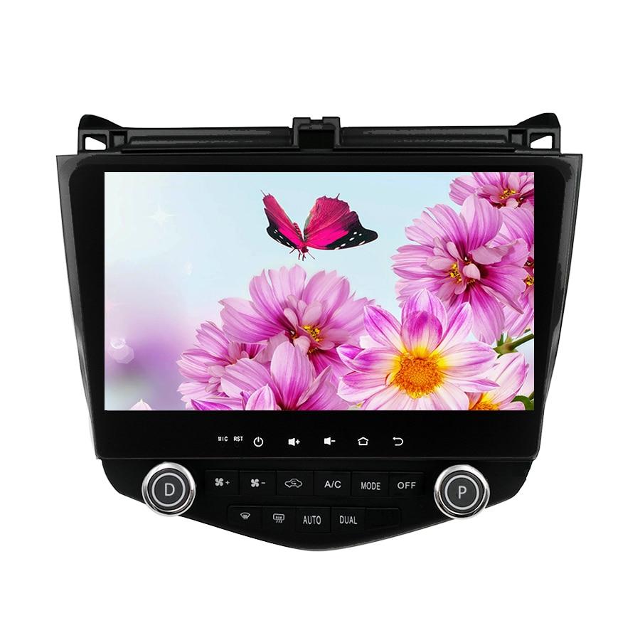 Android 6.0 1024*600 Quad core 10.1 autoradio GPS Navigation pour HONDA Accord 7 2003-2007