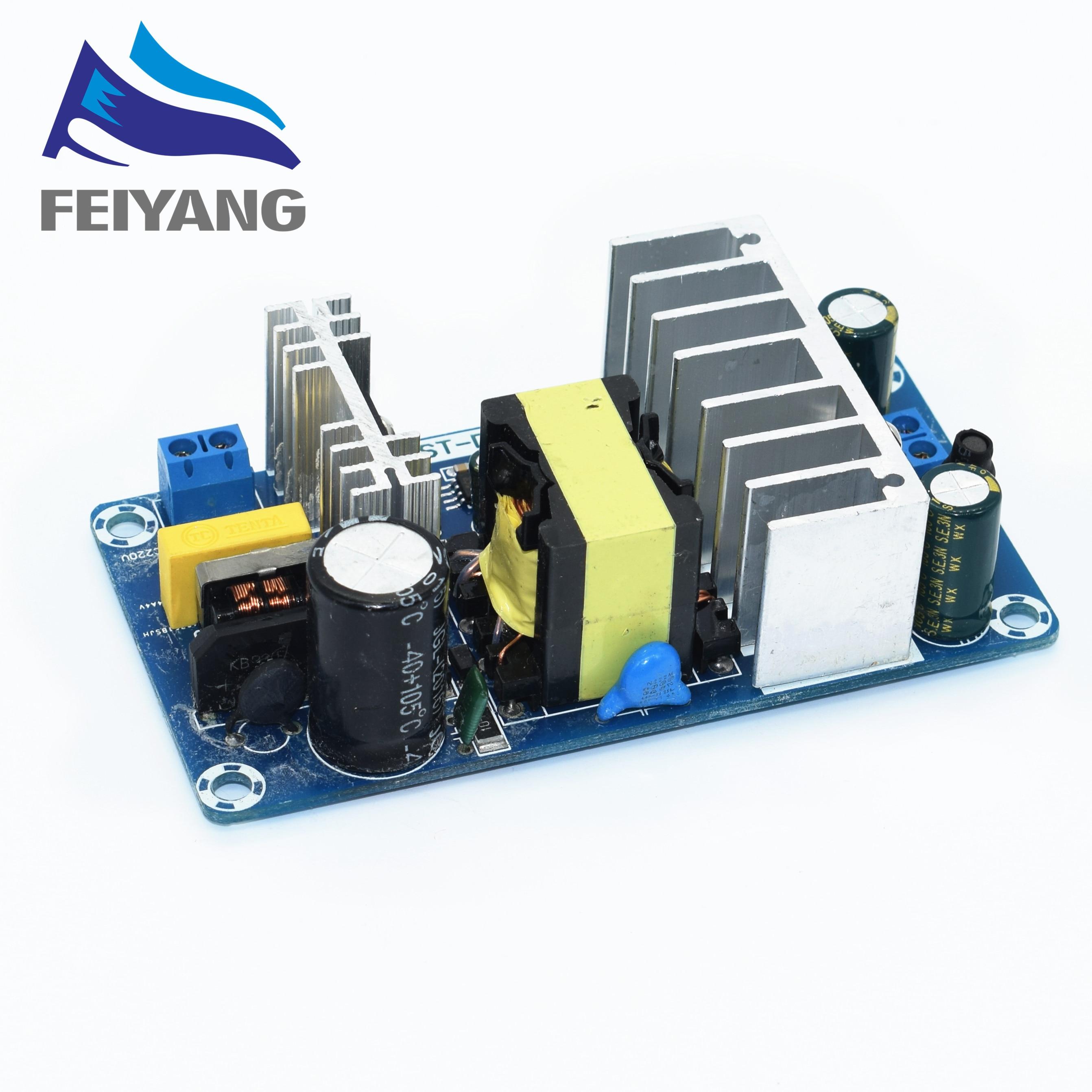 Ac 100-240 v para dc 24 v 4a 6a módulo de fonte de alimentação de comutação AC-DC