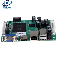 SSICON H.264 4Ch MINI NVR Board ONVIF Motion Detect 4Channel 1080P Network Recorder Board For IP Camera With HDD Cable