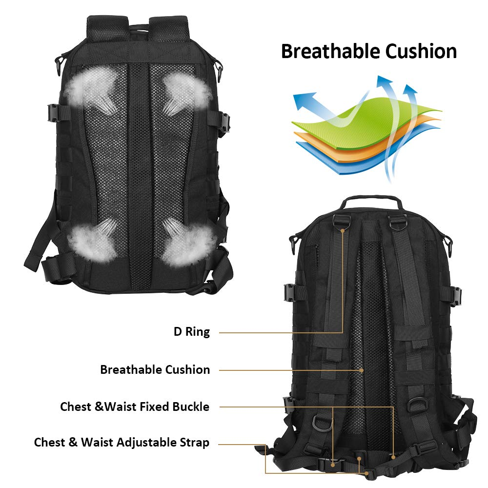 Outdoor Tactical Backpack Military (6)