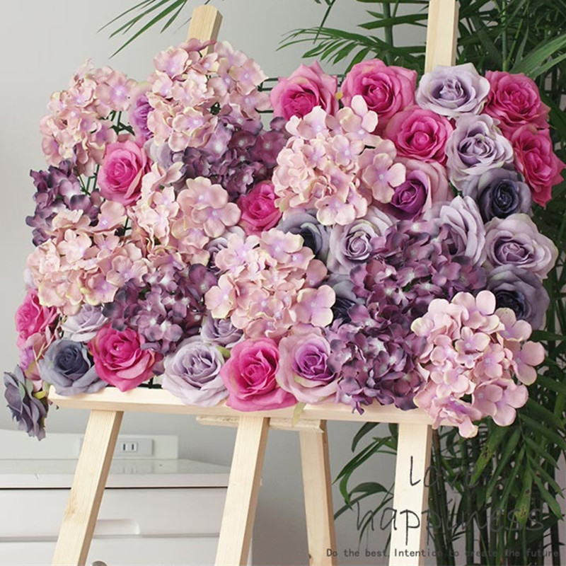 artificial 11 layer silk rose head decoration flowers for wedding party garden decor craft art. Black Bedroom Furniture Sets. Home Design Ideas